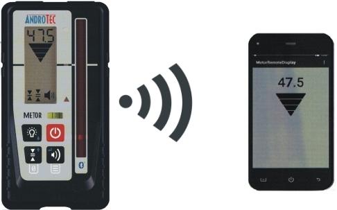 Infrarot Laser Entfernungsmesser : Mm empfänger mit smartphone fernanzeige für rote infrarote